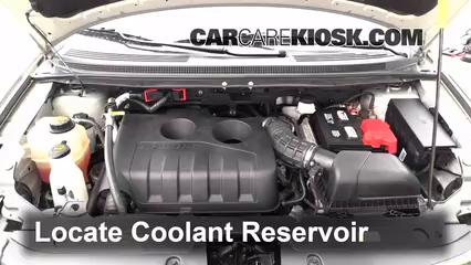 Ford Edge Se  Cyl Turbo Coolant Antifreeze Check Coolant