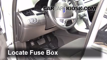 interior fuse box location 2011 2014 ford edge 2013 ford edge se rh carcarekiosk com 2007 ford explorer fuse box location 2006 ford explorer fuse box location