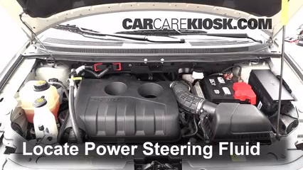 2013 Ford Edge SE 2.0L 4 Cyl. Turbo Power Steering Fluid