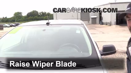 Front Wiper Blade Change Ford Edge