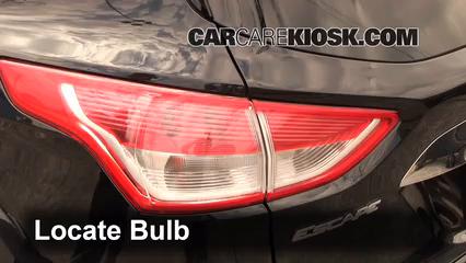 Brake Light Change 2013-2019 Ford Escape - 2013 Ford Escape SEL 2 0L