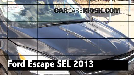 2013 Ford Escape SEL 2.0L 4 Cyl. Turbo Review