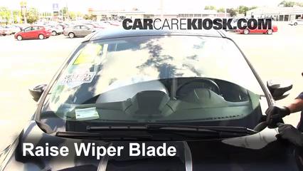 Raise Wiper Blade And Remove It
