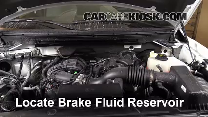 2013 Ford F-150 XLT 3.7L V6 FlexFuel Standard Cab Pickup Brake Fluid Add Fluid