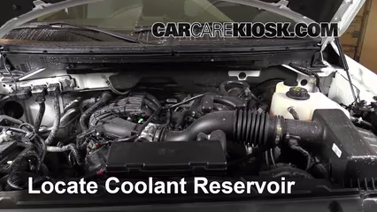 2013 Ford F-150 XLT 3.7L V6 FlexFuel Standard Cab Pickup Coolant (Antifreeze) Check Coolant Level