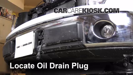 2013 Ford F-150 XLT 3.7L V6 FlexFuel Standard Cab Pickup Oil Change Oil and Oil Filter