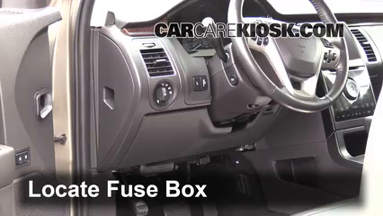 Fuse Interior Part 1 interior fuse box location 2009 2016 ford flex 2013 ford flex 2012 ford taurus fuse box location at gsmx.co