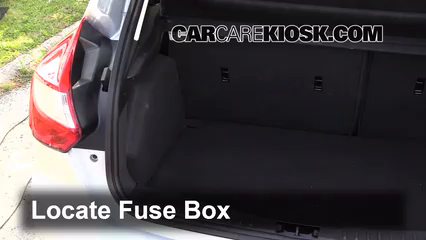 2013 Ford Focus SE 2.0L 4 Cyl. FlexFuel Hatchback Fuse (Interior)