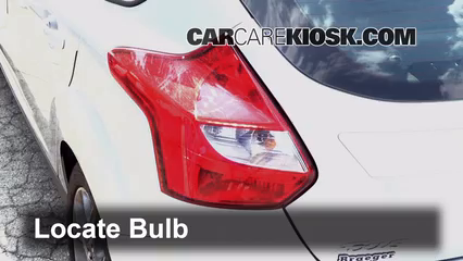 Steps To Remove A Burnt Out Brake Light Bulb