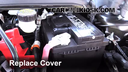 How To Clean Battery Corrosion 2013 2019 Ford Fusion 2013 Ford