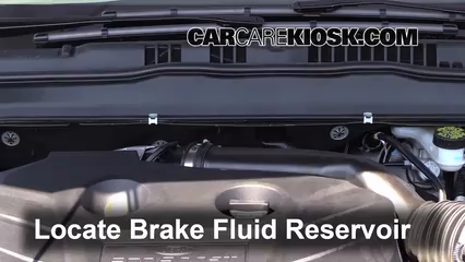 2013 ford fusion se 2 0l 4 cyl  turbo brake fluid check fluid level