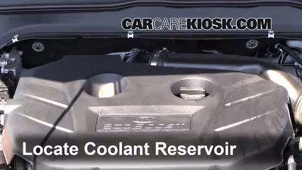 How To Add Coolant Ford Fusion 2013 2019 2013 Ford Fusion Se