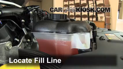 How To Add Coolant Ford Mustang 2010 2014 2013 Ford