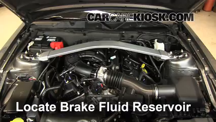 2013 Ford Mustang 3.7L V6 Convertible Brake Fluid