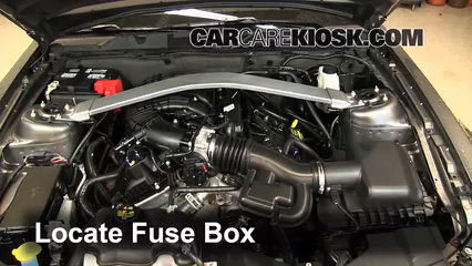 interior fuse box location 2010 2014 ford mustang 2013 ford2013 ford mustang 3 7l v6 convertible fuse (engine) replace