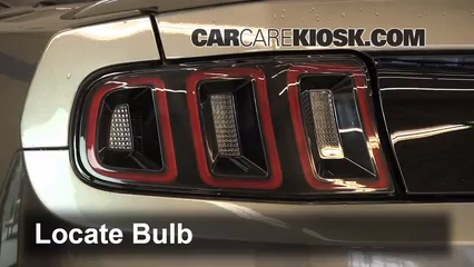 2013 Ford Mustang 3.7L V6 Convertible Lights