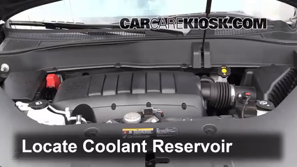 Fix Coolant Leaks: 2007-2016 GMC Acadia - 2013 GMC Acadia
