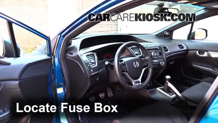 honda civic si 2012 fuse box interior fuse box location 2012 2015 honda civic 2013 honda  interior fuse box location 2012 2015