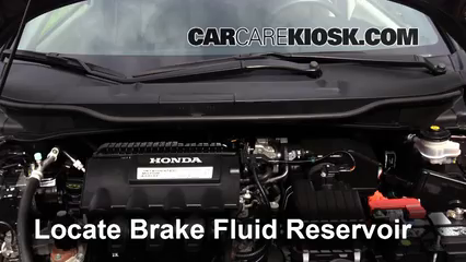 2013 Honda Insight LX 1.3L 4 Cyl. Brake Fluid