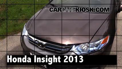 2013 Honda Insight LX 1.3L 4 Cyl. Review