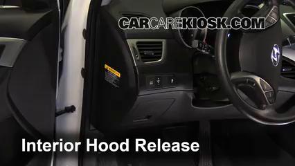 How to Add Refrigerant to a 2013-2014 Hyundai Elantra Coupe