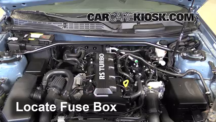 replace a fuse 2013 2016 hyundai genesis coupe 2013 hyundai rh carcarekiosk com hyundai genesis coupe 2014 fuse box diagram genesis coupe fuse box location