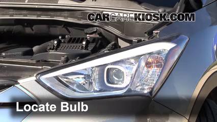 Interior Fuse Box Location: 2013-2018 Hyundai Santa Fe - 2013