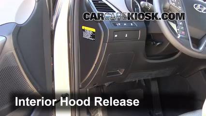 How to Add Refrigerant to a 2013-2018 Hyundai Santa Fe