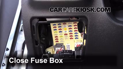 Interior Fuse Box Location: 2012-2017 Hyundai Veloster - 2013 Hyundai  Veloster Turbo 1.6L 4 Cyl. TurboCarCareKiosk