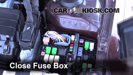 2013 Kia Optima LX 2.4L 4 Cyl.%2FFuse Engine Part 2 replace a fuse 2011 2016 kia optima 2011 kia optima ex 2 4l 4 cyl kia optima 2012 fuse box at edmiracle.co