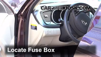 Interior Fuse Box Location: 2011 2016 Kia Optima