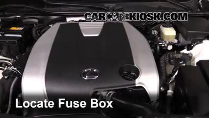 Rep a Fuse: 2013-2017 Lexus GS350 - 2013 Lexus GS350 3.5L V6