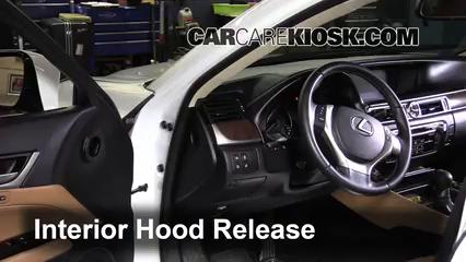 How to Jumpstart a 2013-2017 Lexus GS350 - 2013 Lexus GS350 3 5L V6