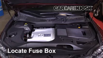 fuse box lexus rx 450h replace a fuse 2010 2015 lexus rx450h 2010 lexus rx450h 3 5l v6  replace a fuse 2010 2015 lexus rx450h
