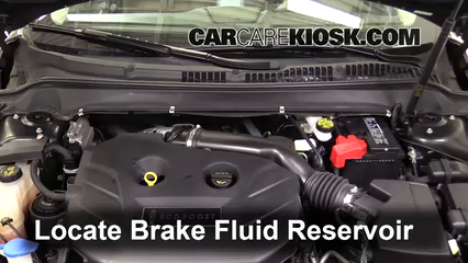 2013 Lincoln MKZ 2.0L 4 Cyl. Turbo Brake Fluid