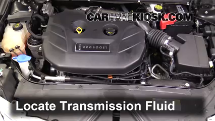 2017 Lincoln MKZ Premiere 2.0L 4 Cyl. Turbo Transmission Fluid