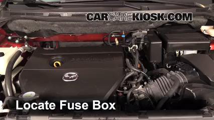Replace A Fuse 2012 2015 Mazda 5 2013 Mazda 5 Sport 2 5l 4 Cyl