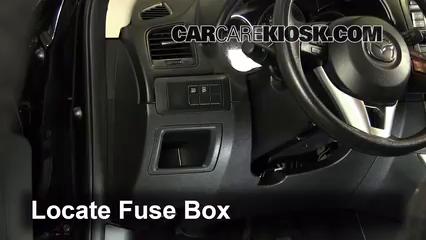 2013 Mazda CX 5 Sport 2.0L 4 Cyl.%2FFuse Interior Part 1 interior fuse box location 2013 2016 mazda cx 5 2013 mazda cx 5