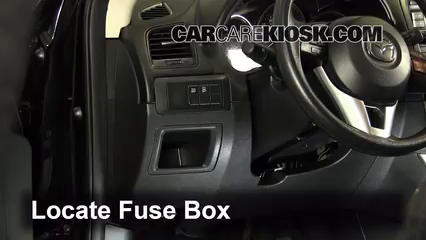 [DIAGRAM_38EU]  Interior Fuse Box Location: 2013-2016 Mazda CX-5 - 2013 Mazda CX-5 Sport  2.0L 4 Cyl. | Mazda Cx 5 Fuse Box Location |  | CarCareKiosk