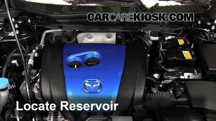 2013 Mazda CX-5 Sport 2.0L 4 Cyl. Windshield Washer Fluid
