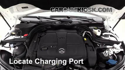2013 Mercedes-Benz C300 4Matic Sport 3.5L V6 Air Conditioner Recharge Freon