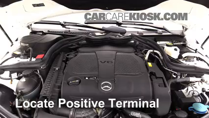 2013 Mercedes-Benz C300 4Matic Sport 3.5L V6 Battery Jumpstart