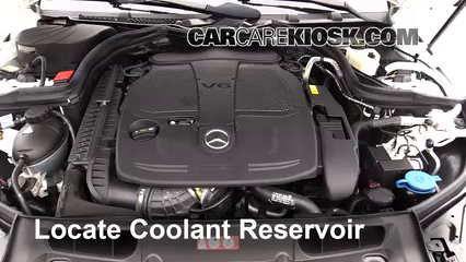 2013 Mercedes-Benz C300 4Matic Sport 3.5L V6 Coolant (Antifreeze) Check Coolant Level