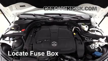 2013 Mercedes-Benz C300 4Matic Sport 3.5L V6 Fuse (Engine) Replace