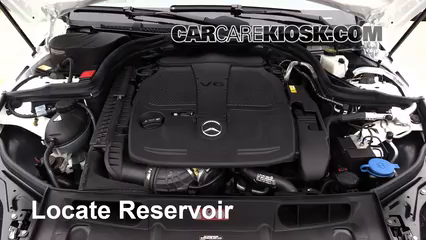 2013 Mercedes-Benz C300 4Matic Sport 3.5L V6 Windshield Washer Fluid Check Fluid Level