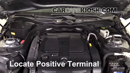 2013 Mercedes-Benz E350 4Matic 3.5L V6 Sedan Battery Jumpstart