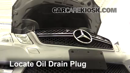 2013 Mercedes-Benz E350 4Matic 3.5L V6 Sedan Oil Change Oil and Oil Filter