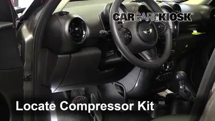 Fix A Flat Tire Mini Cooper Countryman 2011 2016 2013 Mini