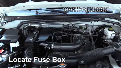 Replace a Fuse: 2005-2019 Nissan Frontier - 2013 Nissan ... on