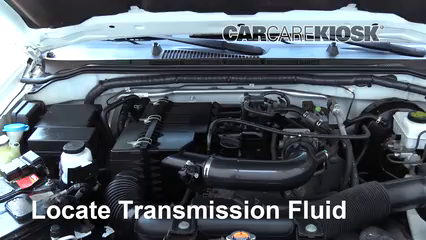 2013 Nissan Frontier SV 2.5L 4 Cyl. Extended Cab Pickup Transmission Fluid